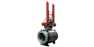 Gas Over Oil Actuated Valves