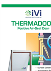 Thermadoor - Electronically-Controlled Insulated Door Brochure