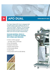 Model APO Dual - Dual Auger Packer for Powders Datasheet