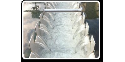 Model GRP - Stainless Steel Effluent Troughs