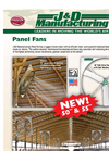 Panel Fans - 24 and 36-inch - Brochure