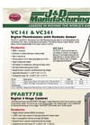 Model VC241 - Two Stage Digital Thermostat Brochure