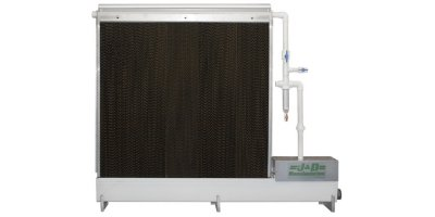 Evaporative Pad Cooling System