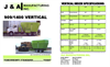 Model 909/1400 - Vertical Feed Mixers Brochure