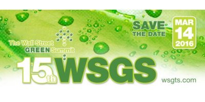 16th Annual Wall Street Green Summit
