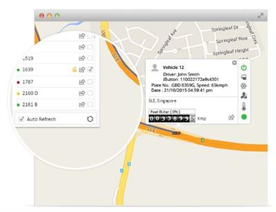 Live GPS Vehicle Tracking Software