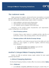 Integral Water Pumping Solutions Brochure