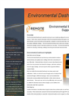 Environmental Dashboard  Software Brochure