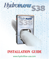HydroFLOW - S38 - Chemical-Free Water Conditioner Installation and User Instructions Manual