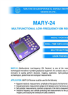 AGCOS - MARY-24 - Multifunction Low-Frequency Geophysical EM Receiver Datasheet
