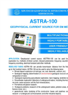 AGCOS - GTS-1 - Multifunction Transmitter for Geophysical EM surveys Datasheet