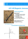 AGCOS - ACF-4M - Magnetic Antenna for Induction Coil Datasheet