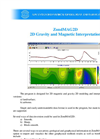 ZondMAG2D - 2D Gravity and Magnetic Interpretation Software Datasheet