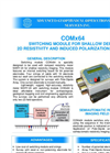 AGCOS - COMx64 - Switching Module for Shallow Depth 2D Resistivity and Induced Polarization Imaging Datasheet