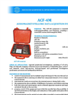 AGCOS - ACF-4M - Audiomagnetotelluric Data Acquisition System Datasheet