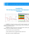 ZondHED1D - VES 1D Data Interpretation with Induction Effect Calculation Software Brochure