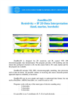 ZondRes2D - Resistivity + IP 2D Data Interpretation Software (land, marine, borehole) Brochure