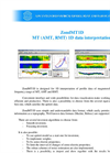 ZondMT1D - MT (AMT, RMT) 1D Data Interpretation Brochure