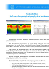 SectionEditor - Software for Geological-geophysical Section Creation Brochure