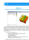 Z3DModView - Software for 3-D Visualization of 2-D Inversion Results Brochure