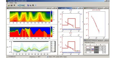 Version Nemfis1D - Electromagnetic Scanner (Nemfis) 1D Data Interpretation Software