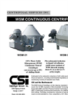 CSI - Model WSM-04 - Vertical Cuttings Dryers Brochure