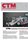 Commander - Model 3240 - Tomato Harvester Brochure