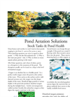 Pond Aeration Solutions Stock Tanks & Pond Health Brochure