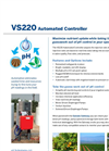 Model VS220 - Automated Controller Brochure