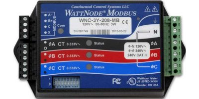 WattNode Modbus - Power and Energy Meters