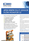 ATEX - Model MSFM S2U - GPRS Multi Sensor Flow Monitor Brochure