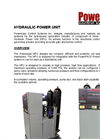 Hydraulic Power Unit Brochure Brochure