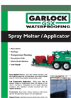 Garlock - Model 410 GSX - Waterproofing Applicator Brochure