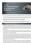 Enviro - Model 151 - Environmental Monitoring Station Brochure