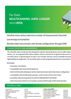 Model microMDL - Multichannel Data Logger Brochure