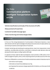 Model e-CON - Communication Platform Intelligent Transportation System Brochure