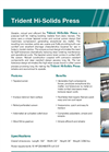 Trident - Tapered Screw Press Brochure