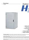 Serenergy - Model H3 - Outdoor Cabinet - Brochure