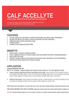 AccelLyte - Calf Electrolyte Contains Potassium and Sodium Brochure