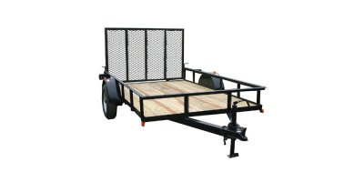 616TG - Trailers - 76 In  x 16 Ft  Utility Trailer, Tandem Axle by