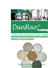 Ion Exchange Resin Brochure of Danhao Corp.