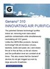 Genano - 310 - Innovating Air Purification - Brochure