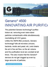 Genano - 4500 - Innovating Air Purification - Brochure