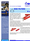 Model D Series - Disc Filters- Brochure