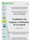 Organic Guidelines for LiveStock Brochure