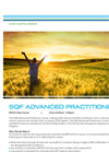 SQF Advanced Practitioner - Tech sheet