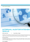 Internal Auditor Intensive Skills - Tech sheet