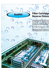 Sedifilt - Filter Cartridge for Reverse Osmosis Plant Brochure