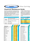 Sedifilt Chemical Resistance Guide