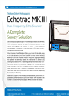 Echotrac MKIII Dual Frequency Echo Sounder Brochure